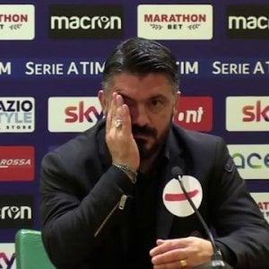 Milan, un segnale per Gattuso: 16 'stakanovisti' all'allenamento
