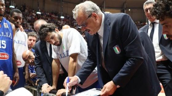 """Basket, Nazionale; Sacchetti: """"Con la Lituania serve il giusto atteggiamento"""""""