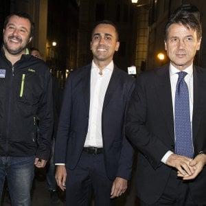 Salvini, Di Maio e Conte