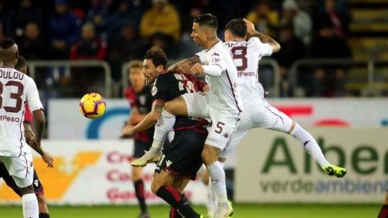 Cagliari-Torino 0-0: poche emozioni, vincono le difese