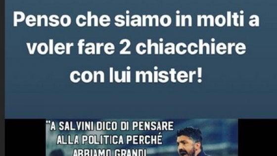 Gattuso a Salvini: