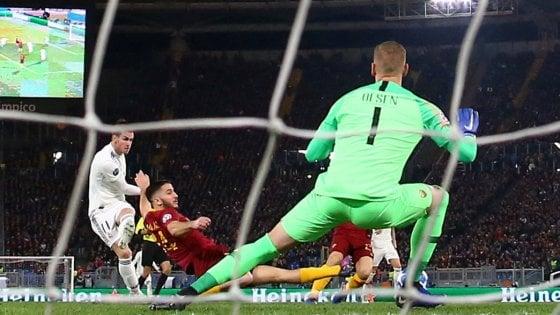 Roma-Real Madrid 0-2, Bale e Vazquez spengono i sogni di primato