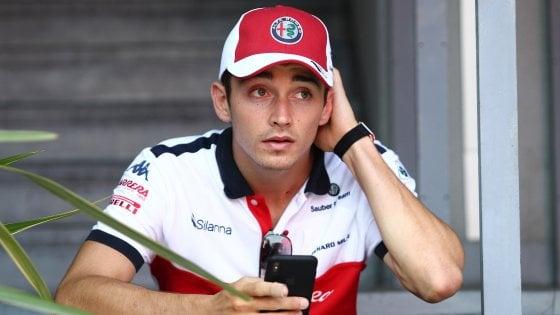 F1, test Abu Dhabi: Leclerc-Ferrari, è subito grande feeling