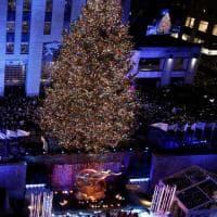 New York e la Casa Bianca si accendono per il Natale
