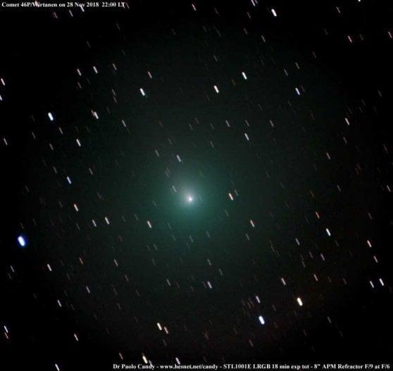 È già in cielo la 'cometa di Natale'. Si vede anche a occhio nudo