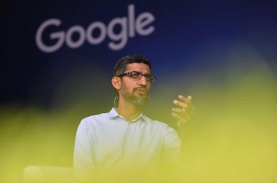 L'ad di Google, Sundar Pichai