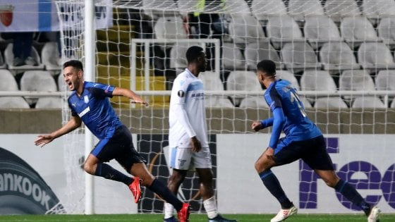 Europa League, Apollon-Lazio 2-0: ko indolore per i biancocelesti