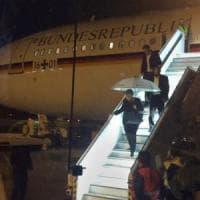 G20, in panne l'aereo di Angela Merkel, piloti costretti ad atterraggio d'emergenza