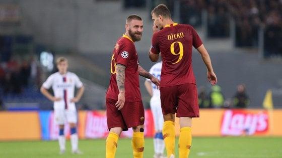 Roma, guai per Di Francesco: Dzeko ed El Shaarawy fuori 4 partite