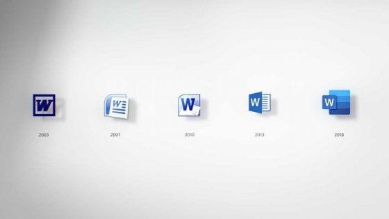 Microsoft, ecco le nuove icone per Office