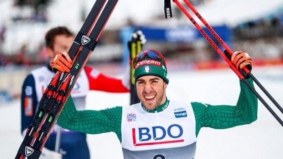 Sci di fondo, Cdm: Pellegrino vince sprint a tecnica classica di Lillehammer