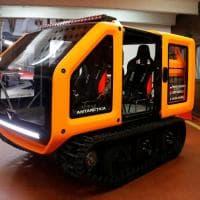 Montecarlo: il principe Alberto battezza il veicolo elettrico per esplorare l'Antartide