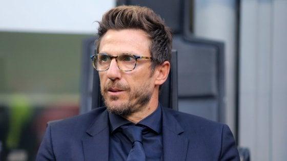 """Roma, Di Francesco: """"Voglio una squadra col sangue agli occhi"""""""