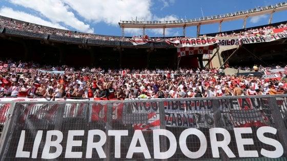 """Libertadores, River contro la Conmebol: """"Non giocheremo al Bernabeu"""""""
