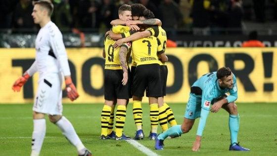 Germania, Dortmund prosegue la fuga: il Bayern torna a vincere