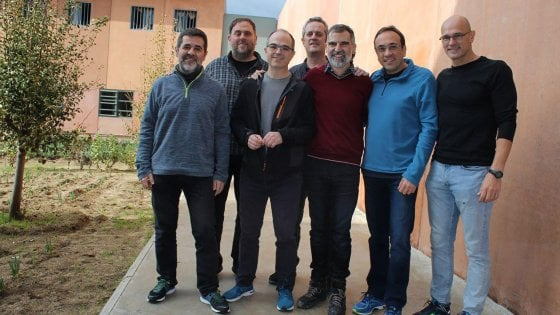 Catalogna, sciopero della fame per due leader indipendentisti in carcere