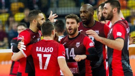 Volley, Mondiale per club: Civitanova-Trento, è derby italiano per il titolo