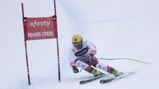 Sci, SuperG Beaver Creek: vince Franz, Paris è terzo