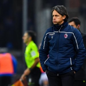 """Bologna, Inzaghi: """"Incredibile, ci siamo fatti due gol da soli"""""""