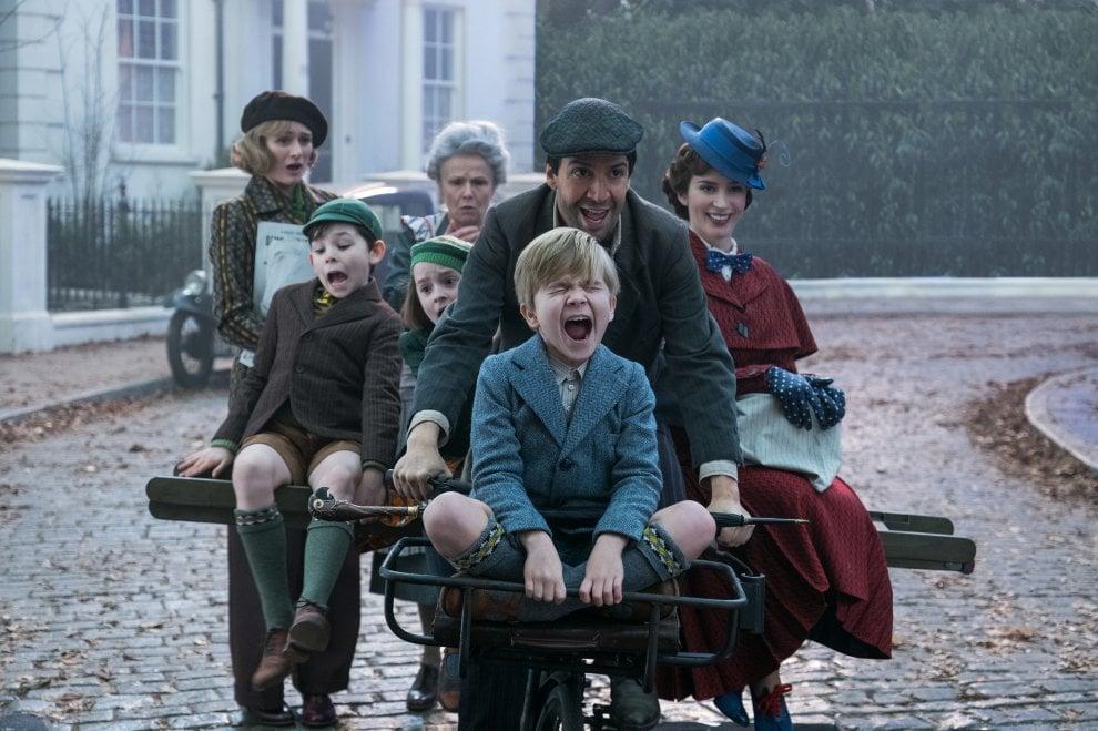 Mary Poppins è tornata e ha il volto di Emily Blunt