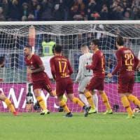 Roma-Inter 2-2: pari-show all'Olimpico, tra Var e polemiche