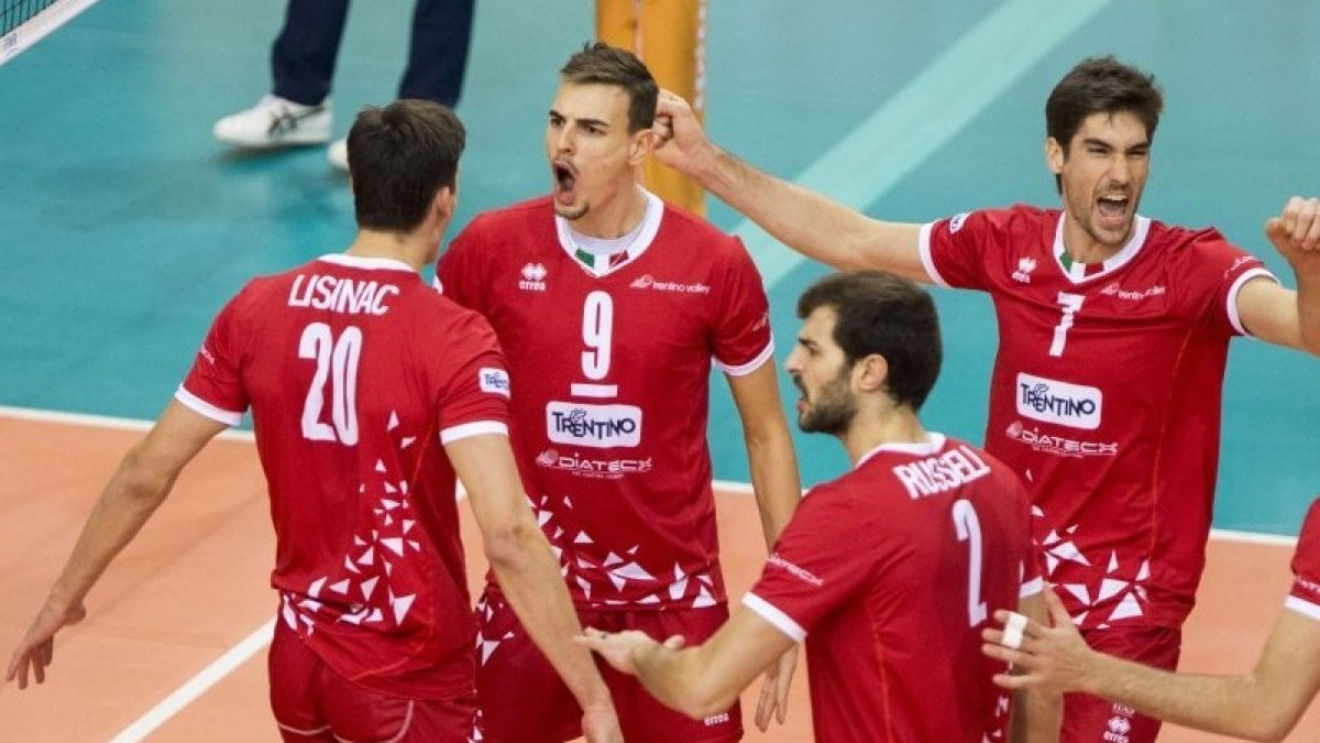 Lube Volley Calendario.Volley Mondiale Per Club Trento Campione Civitanova