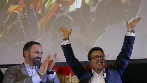 Sorpresa in Spagna,  l'estrema destra entra nel Parlamento regionale dell'Andalusia