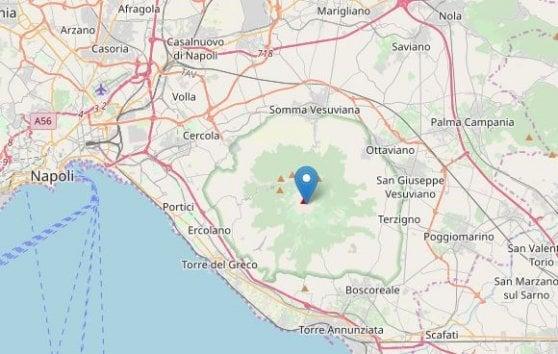 Terremoto magnitudo 3.2 tra Bologna e Pistoia, un'altra scossa con epicentro il cono del Vesuvio