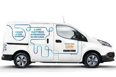 """Nissan """"e-Van Sharing"""", il trasporto elettrico condiviso"""
