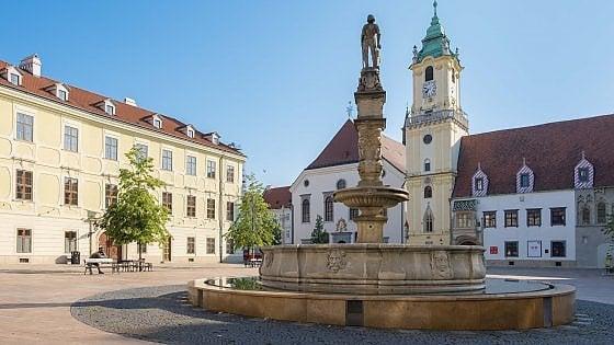 Bratislava, la piccola regina della Mitteleuropa