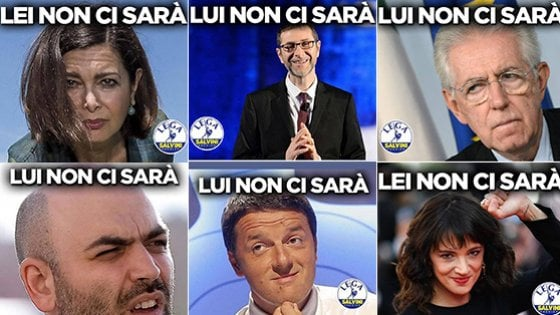 #romanonfalastupida: i manifesti contro la Lega a Roma