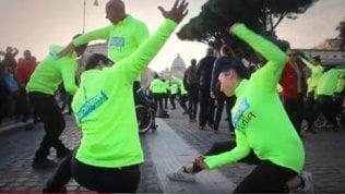 Giornata delle persone disabili:il flash mob per sensibilizzaresui 10 diritti negati