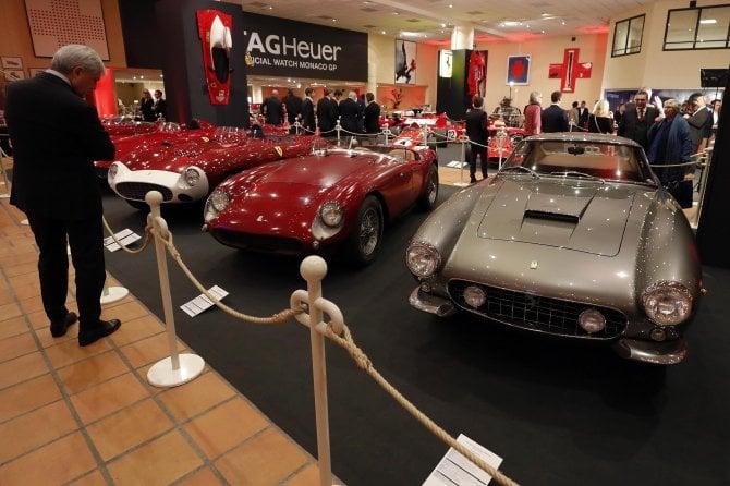 Ferrari, mostra da sogno al museo del Principe di Monaco