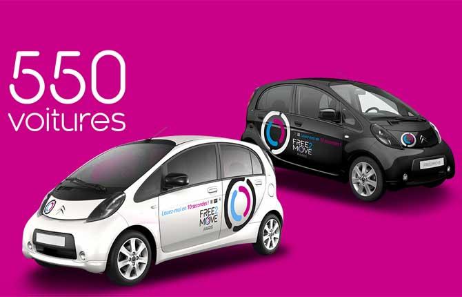 Al via a Parigi il car-sharing targato Free2Move
