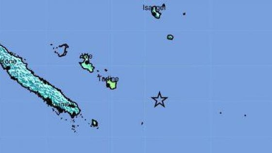 Allarme tsunami in Nuova Caledonia e Vanuatu dopo terremoto: evacuate zone costiere