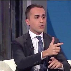 """Il vicepremier Luigi Di Maio a """"Porta a Porta"""""""