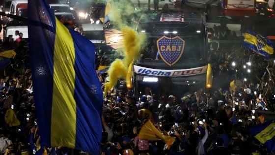 Libertadores: Boca partito per Madrid scortato da tifosi