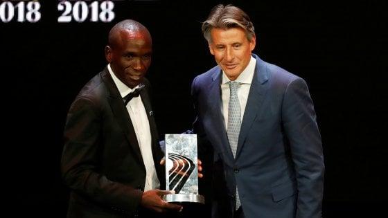 Atletica, il maratoneta Eliud Kipchoge atleta dell'anno