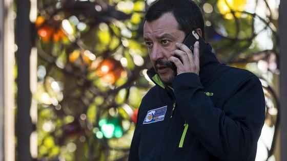 """Salvini: """"Tifo sì per la Tav"""""""