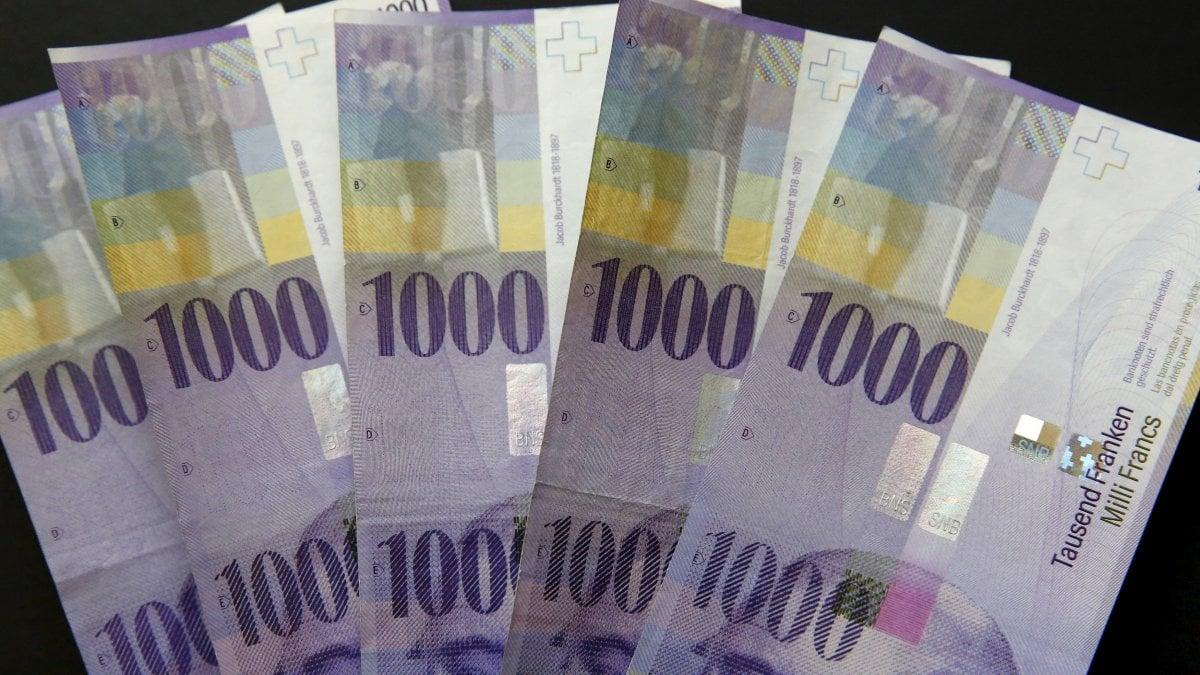 Portare i soldi in Svizzera