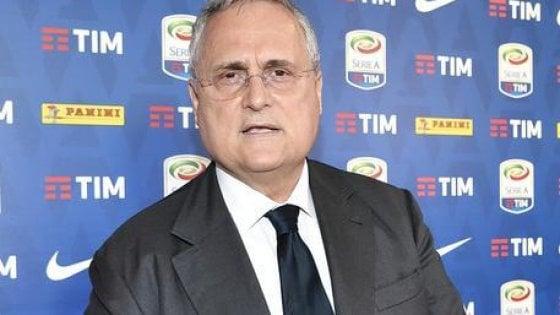"""Lazio, Lotito: """"Siamo una Ferrari ingolfata, ma ora ripartiamo sereni e uniti"""""""