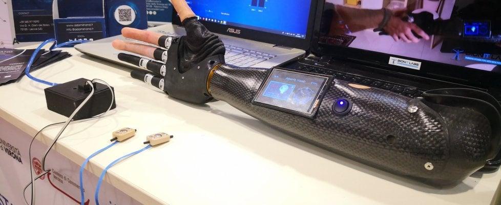 Adam's Hand, da una startup salentina la protesi della mano stampata in 3D