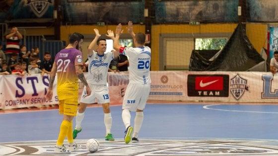 Calcio a 5, Serie A: Maritime-Pesaro: sfida per il primato su Rep Tv Sport