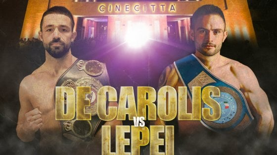 Boxe e cinema a Cinecittà: il clou e De Carolis-Lepei