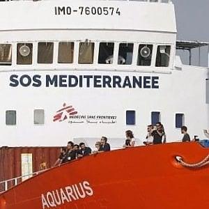 """Migranti, Msf e Sos Mediterranee: """"Aquarius costretta a chiudere la sua attività"""""""