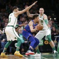 Basket, Nba: altro crollo per Houston, Boston risale spedita