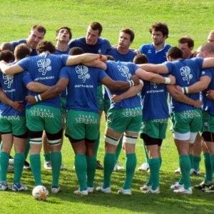 Benetton Rugby, i giocatori rasati in solidarietà con il compagno malato di tumore