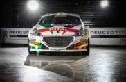 Colorazione patriottica speciale per la Peugeot 208 T16 R5 di Andreucci Andreussi al Monza Rally Show 2018