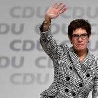 Germania, è Annegret Kramp-Karrenbauer la nuova leader Cdu