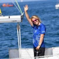 Soccorsa Susie Goodall, la velista britannica naufragata al largo di Capo Horn